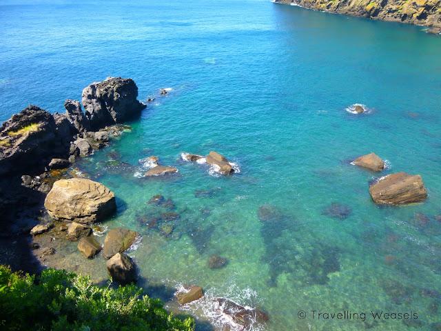 Die Azores Küste