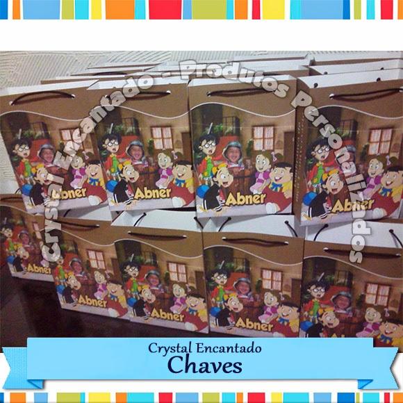 Sacola Personalizada Chaves