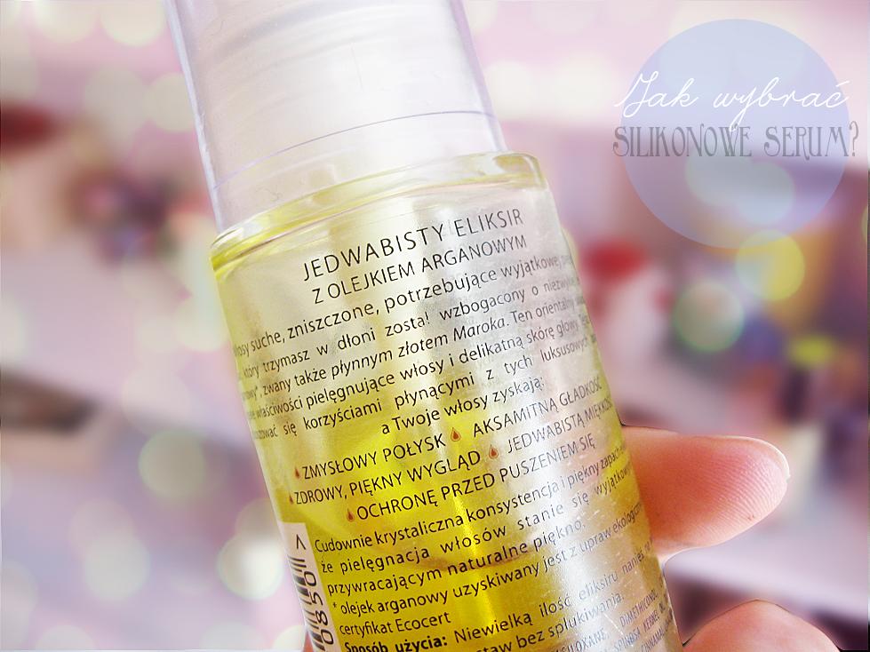 jak wybrać silikonowe serum do włosów