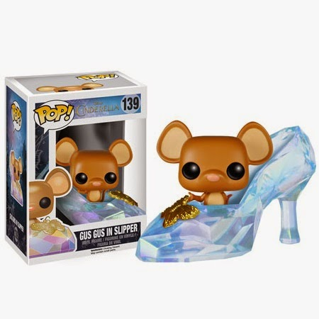 Cinderella Movie Pop! Disney Vinyl Figures by Funko - Gus Gus in Slipper