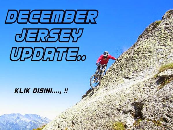 jersey sepeda update desember, baju mtb, dh