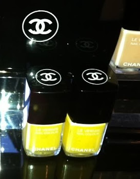 "Chanel's"" Mimosa"" nail polish 2011 summer"
