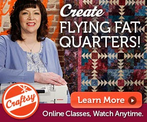Flying Fat Quarters 25% off
