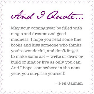 neil gaiman quote about happy new year