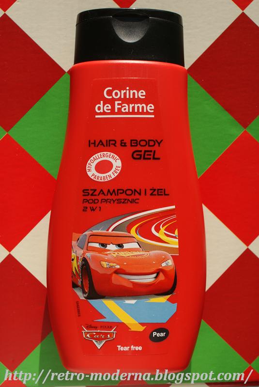 Corine De Farme Disney Żel pod prysznic i szampon 2w1 Cars