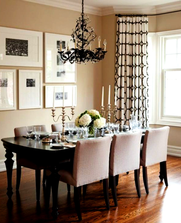 home decor ideas dining room art configuration