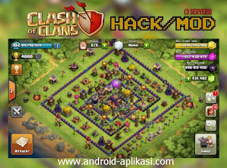 Clash Of Clans Mod FHx V6 Private Server Indo 2015