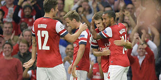 Video Gol Arsenal vs Fenerbahce 28 Agustus 2013