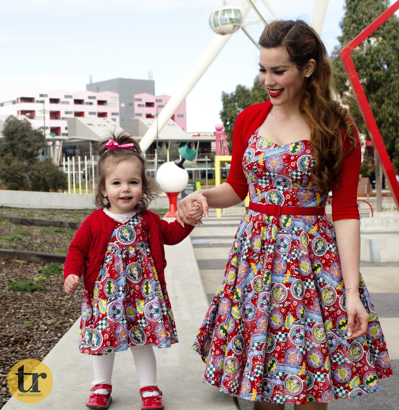 Matching Mother Daughter Outfits - Pow Pow! in Pigtails and Pirates ...