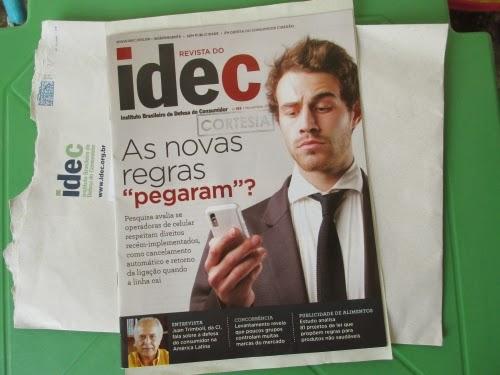 Brinde Recebido- Revista IDEC