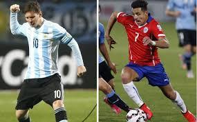 Argentina vs Chile por el Título Copa América 2015