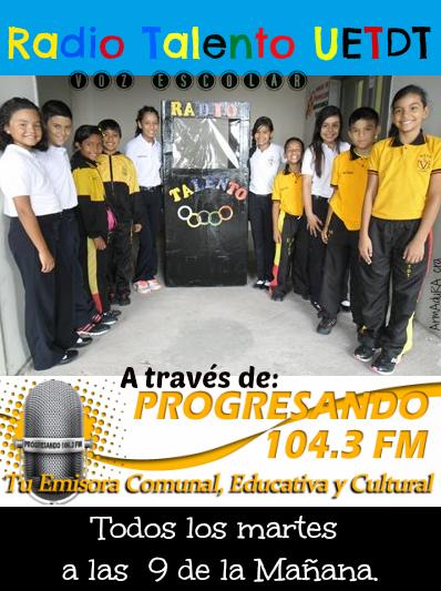 ESCUCHA )))Radio Talento en FM(((