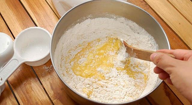 Cookies de naranja caseras paso 4