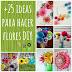 Recursos: Cómo hacer flores DIY
