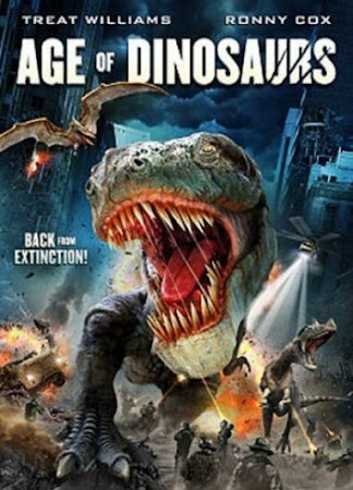 Poster Of Age of Dinosaurs (2013) In Hindi English Dual Audio 100MB Compressed Small Size Mobile Movie Free Download Only