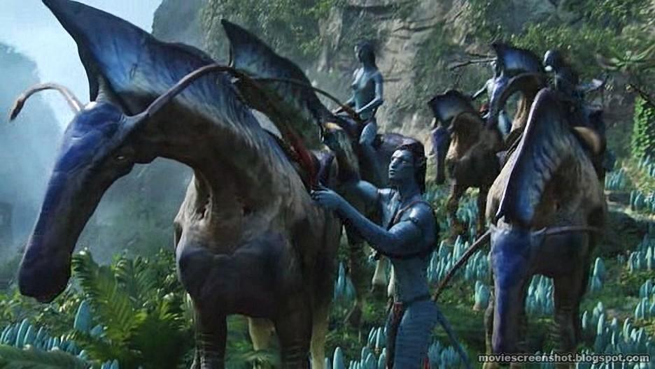 Avatar movie screensho... Zoe Saldana