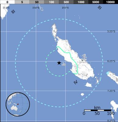 TERREMOTO 6,0° PAPUA NUEVA GUINEA, 16 DE JULIO 2013