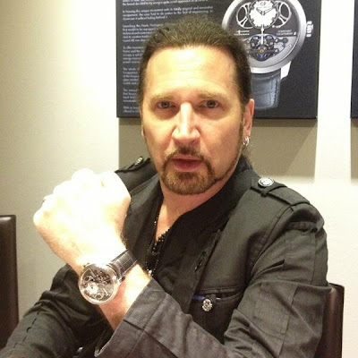 KISSopolis: Eric Singer At Girard-Perregaux's Watch Booth At ...