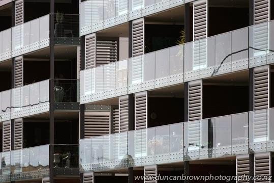 No lawns!! Apartments in Ahuriri, Napier photograph