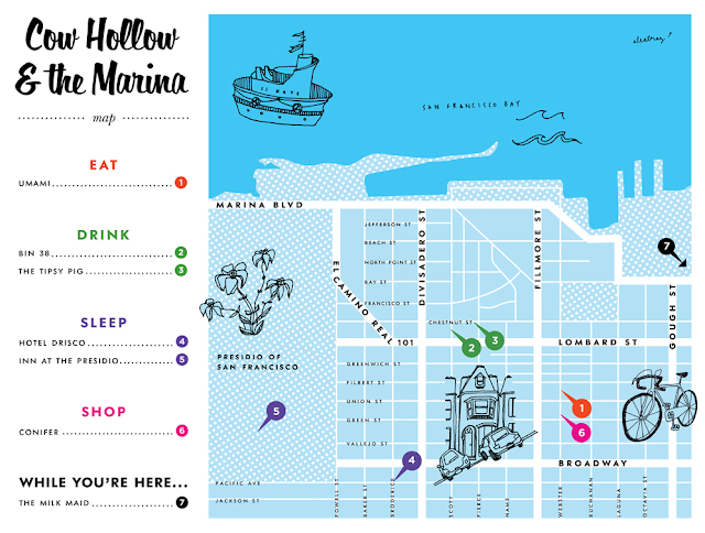 Bike Guide: Cow Hollow & The Marina, San Francisco