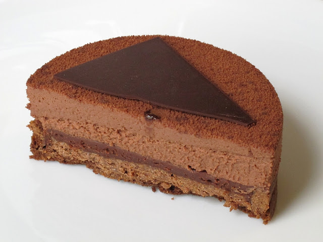 Pâtisserie Mori Yoshida Paris - Tarte au chocolat