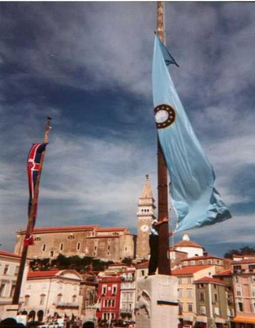 EWT Flag in Piran