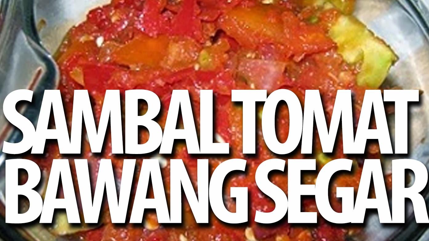 Sambal Tomat Bawang Segar Resep Masakan Praktis Rumahan