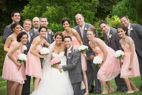 inn at woodstock hill wedding: bridal party