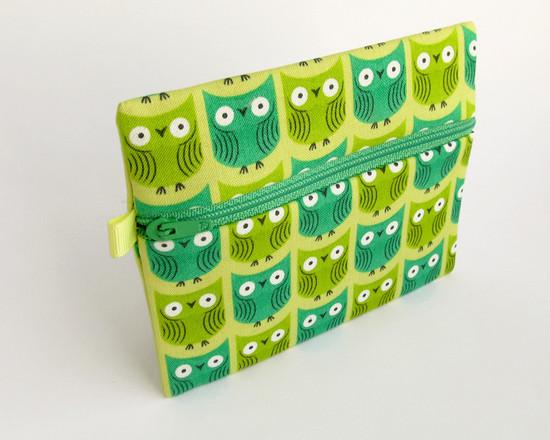green pouch, совы