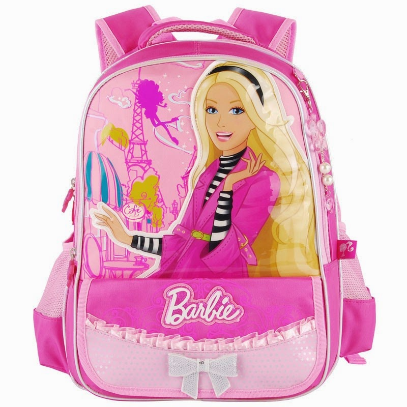 Barbie school Bags, Kids School backpacks, Children School Bag, School ...