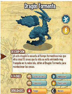 dragon tormenta trucos dragon city