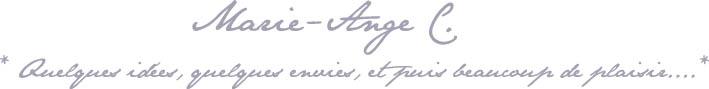 Marie-Ange C.