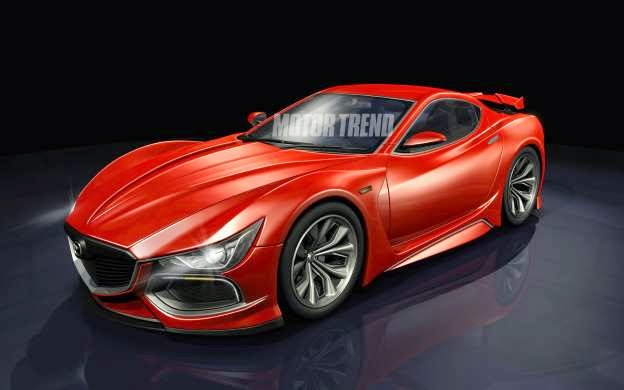 We Hear: Rotary-Powered Mazda Sports Car to get Electric Turbo