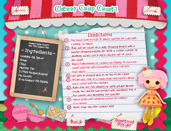 cherry crisp crust
