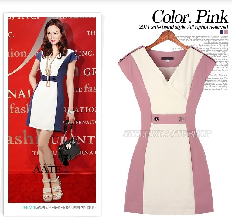Busana: Dress Thick Mess Bis Pink