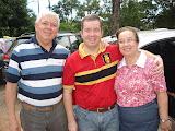 Pr. Valdeny, filho Pb. Alexandre e Ira. Raquel