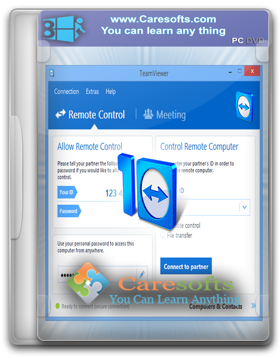 TeamViewer 10.0.36244 Premium + Corporate Incl. Patch