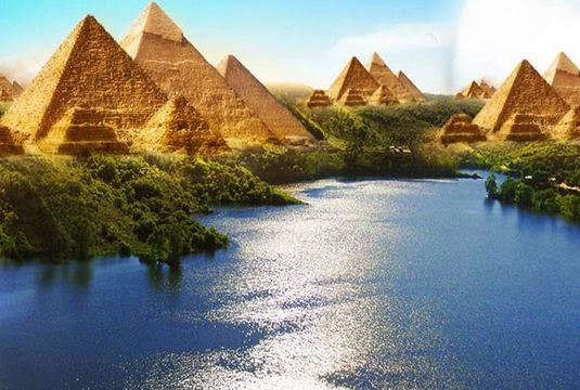 The Ancient Rivers of Egypt: A new Qur'anic Miracle