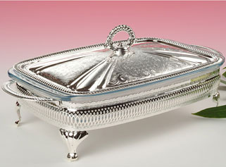 QUEEN ANNE Silver Plated Casseroles Tableware & Kitch u0027nu0027 Chic: QUEEN ANNE Silver Plated Casseroles Tableware