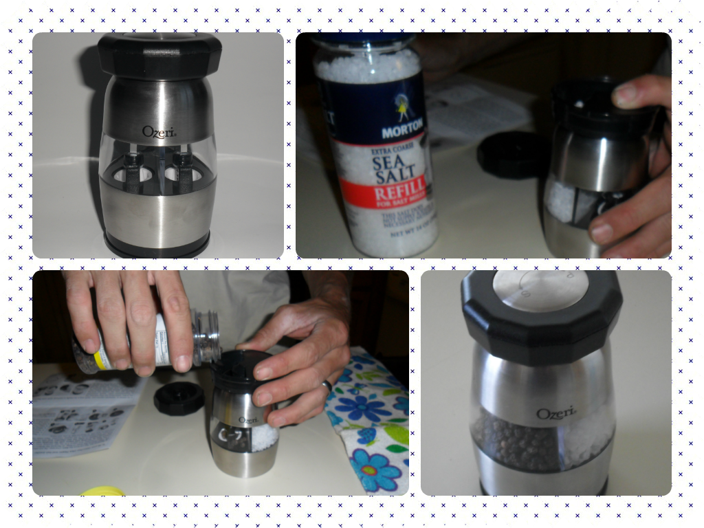 Seasoning your kitchen with Ozeri: Duo Ultra Salt and Pepper Grinder