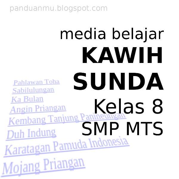 kawih sunda kelas 8 smp kurikulum 2013