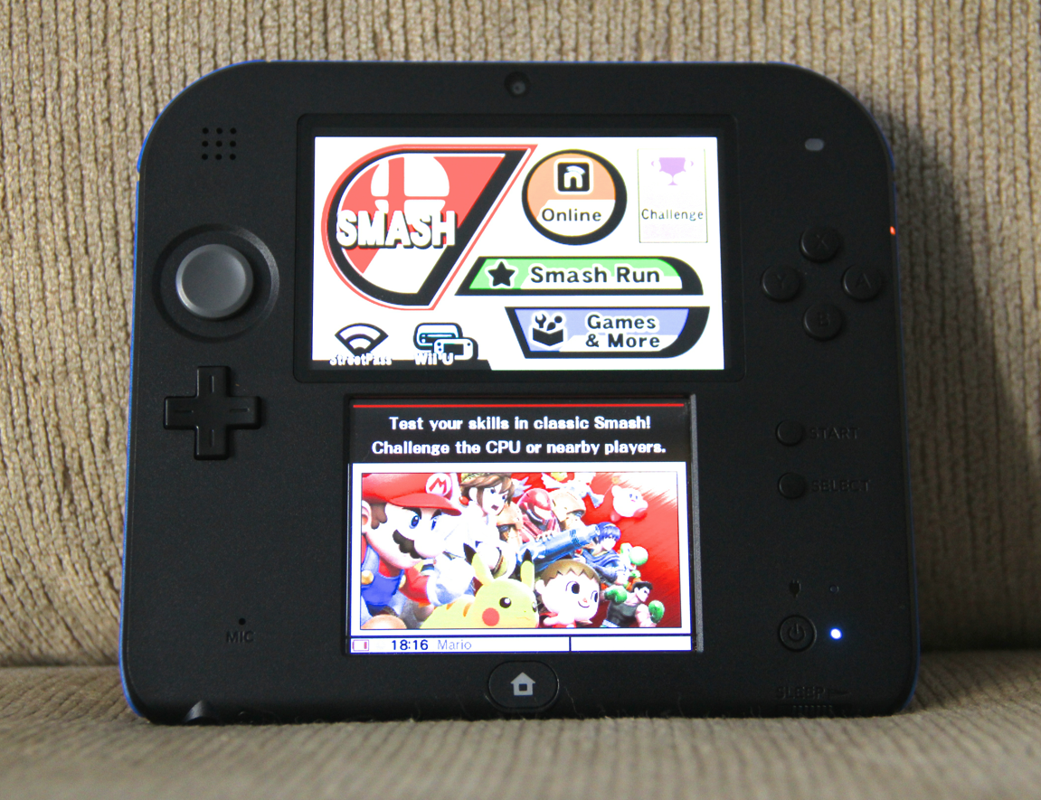 Nintendo 2DS - Super Smash Bros.