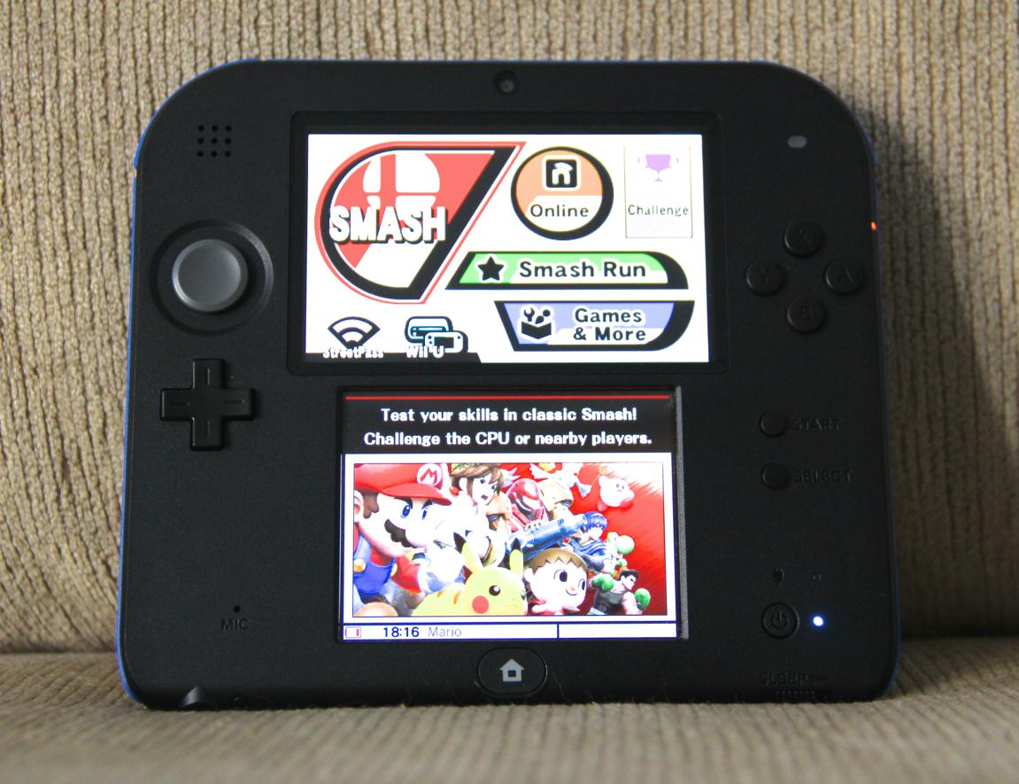 Nintendo 2DS - Super Smash Bros.