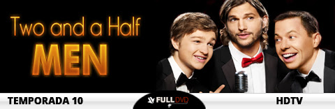 Two and a Half Men 10x16 Advantage Fat, Flying Baby HDTV Subtitulado 2013