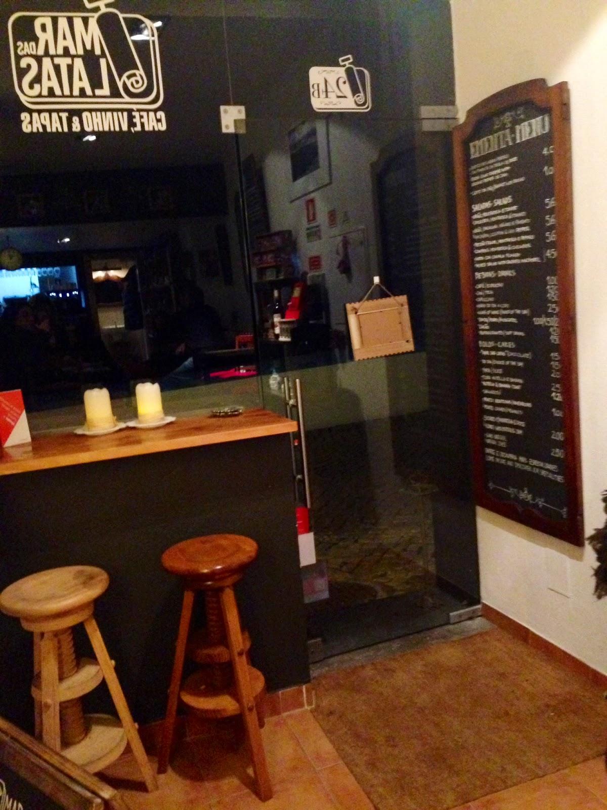MAR DAS LATAS | CAFÉ, VINHO E TAPAS