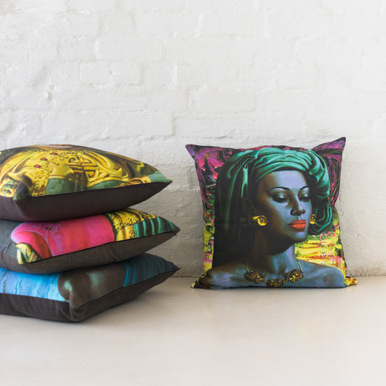 Safari Fusion blog | Cushion love | 20% off all cushions until Monday | Tretchikoff Cushion (Balinese Girl) by Safari Fusion www.safarifusion.com.au