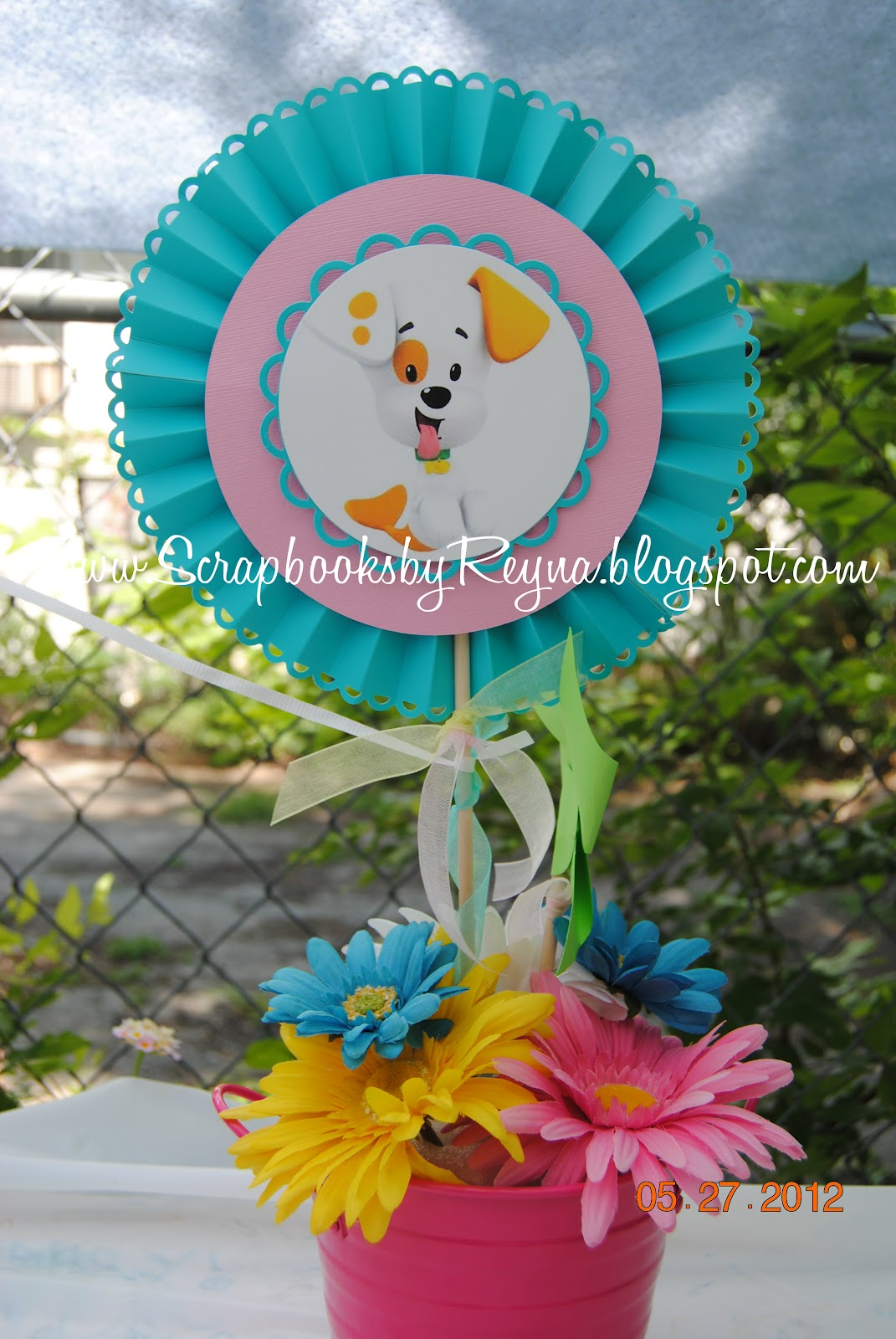 Scrapbooks By Reyna: Bubble Guppies Birthday Theme
