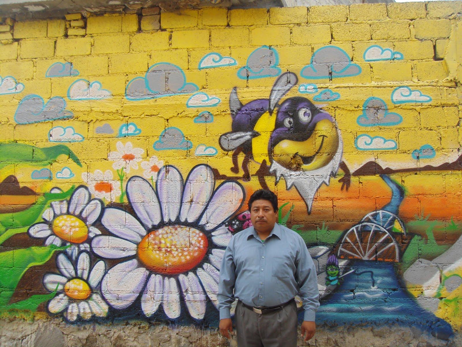 Colectivo arte express tico mural echo al kinder de for Arte colectivo mural