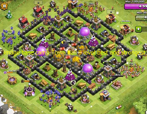 Best town hall 8 defense 2015 tips android terkini set image