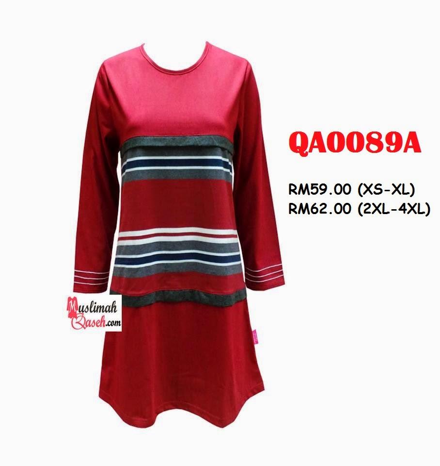 T-Shirt-Muslimah-Qaseh-QA0089A